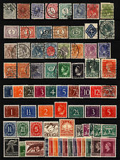 Netherlands & Territories 1872-1950 Lot M&U 73 items