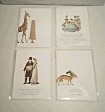 TokyoMilk Signature Stationary Note Cards Set of 4 New Sealed