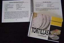 Tortillas Cookbook, Mexican style dishes, desserts, meals 101 recipes Tacos+ NEW