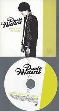 PROMO CD--PAOLO NUTINI--JENNY DONT BE HASTY--1TR