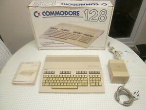 Boxed Commodore 128 Computer *tested and working*