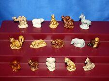 "Wade Whimsies ""Set 5 Animal Series� Porcelain Miniatures"