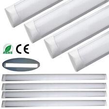 10x 4FT 1200mm Surface Mount LED Ceiling Tube Light Linear Panel Downlight White
