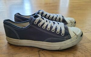 Jack Purcell Converse Blue shoes Mens sz 9 Women's sz 10.5 vintage by DOZAL $$$$