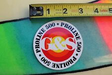 Gordon & Smith G&S Skateboards ProLine 500 Retro Reissue Skateboarding Sticker