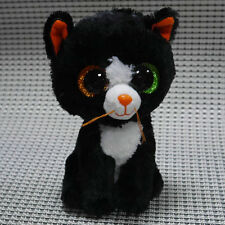 Soft Toy From TY BEANIES BOOS  Frights Black cat 6 inch  Stuffed toy missing tag