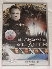 Stargate Atlantis Stagione 2 Due Completo DVD Cofanetto - NUOVO E SIGILLATO