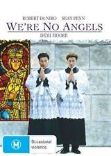We're No Angels (DVD) Sean Penn / Robert De Niro - Region 4 - New and Sealed
