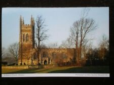 POSTCARD B33-7 NORTHAMPTONSHIRE WHISTON - ST MARY'S CHURCH
