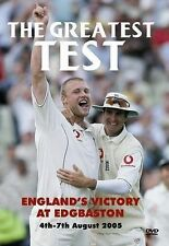 The Greatest Test [DVD], DVDs