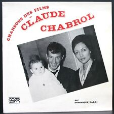 RARE LP 33T CHANSONS DES FILMS CLAUDE CHABROL Dominique Zardi BELMONDO / AUDRAN