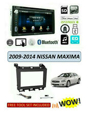 NEW fits 2009-2014 NISSAN MAXIMA Stereo Kit, BLUETOOTH TOUCHSCREEN