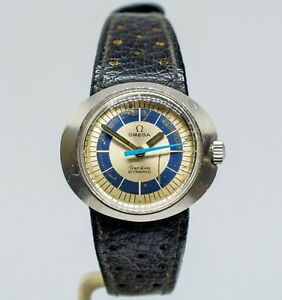 Vtg Omega Ladies Dynamic Geneve Automatic Tool 102 Wrist Watch