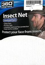 NEW Mosquito & fly head, face & neck net suit hats large
