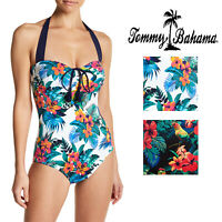 Tommy Bahama Jungle Halter One-Piece Swimsuit