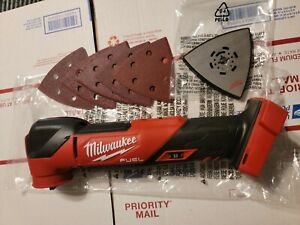 New Milwaukee 2836-20 FUEL Brushless  Multitool Tool Only