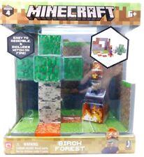 Minecraft: Birch Forest Biome Series 4 Brand New Collectible Toy