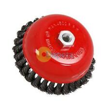 """Twist Knot Wire Wheel Cup Brush 150mm M14 for 4 1/2"""" 115mm Angle Grinder"""