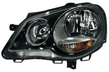 GTI Cup faros negro izquierdo para VW Polo 9n3 05-09