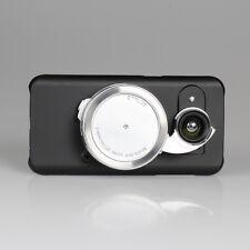 Ztylus Black Phone Camera Case Cover for Samsung Galaxy S7 Edge + Revolver Lens