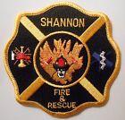 "Shannon Fire & Rescue Patch - 4"" x 4"""