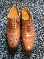 samual windsor Brown Leather Shoes Mens Uk 8.5