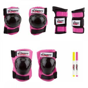 Triple Eight Wipeout 3-Pack Pink Youth MD Unisex
