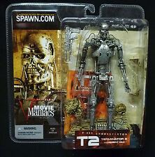 McFarlane Toys Movie Maniacs Series 5 T-800 Endoskeleton Terminator T2 New 2002