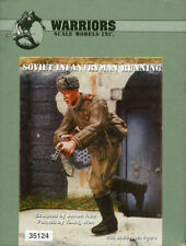 Warriors 1:35 Soviet Infantryman Running Resin Figure Kit #Wa35124