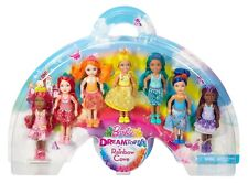 Barbie Dreamtopia Kelly Rainbow Cove 7 Doll Gift Set DPY37 NEW