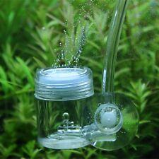 Acuario Pecera Spiral CO2 Difusor Glass Cerámico Tube Bubble Counter Suction