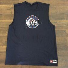 9f248c226e38b Quiksilver Men s Sleeveless T-shirt Color   Navy Size   MEDIUM