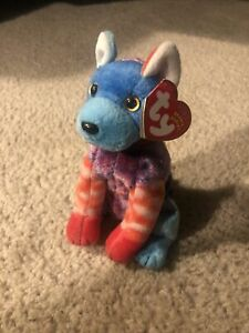 TY BEANIE BABIES 2002 HODGE-PODGE THE DOG BEANBAG PLUSH WITH HANG TAGS MINT