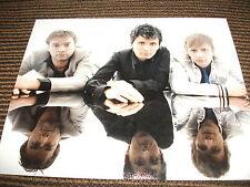 Muse English Rock Band Bellamy Howard Wolstenholme Color 8x10 Photo