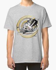 Panther model 120 Sloper engine Vintage Motorcycle T-Shirt INISHED Productions