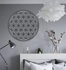 WD Wandtattoo BLUME DES LEBENS Energie Symbol Wandsticker Aufkleber Geometrie