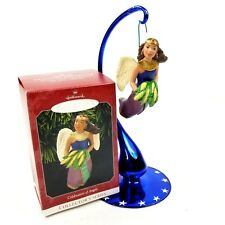 Hallmark 1998 Christmas Kwanzaa Ornament A Celebration Of Angels Collectible New