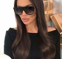 Sunglasses Thin SHADOW SLIM FRAMES BIG Flat Top Aviator Women SHADZ GAFAS