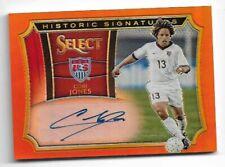 2015-16 Panini Select Soccer Auto card :Cobi Jones #037/199