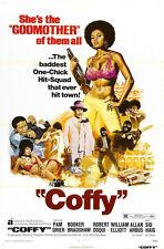 24X36Inch Art COFFY Movie Poster Blaxploitation Pam Grier P40