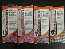 SALLY HANSEN SALON EFFECTS REAL NAIL POLISH STRIPS - PEDICURE - EL 2191