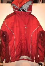 Polaris Women's Pepper Snowmobile Jacket Red Size LARGE