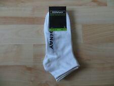 Men's Boy's - DONNAY White Sports Gym Trainer Socks - Size  S/M
