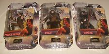 """Set of 3 PRINCE PERSIA Sands of Time 6"""" Figures  Prince Dastan, Zolm, & Ghaza"""