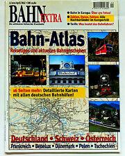 Bahn-Extra 2/2001 Bahn-Atlas Deutschland - Schweiz - Österreich, GeraNova 2001