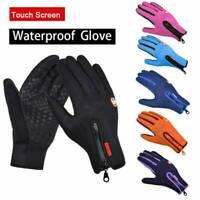 Waterproof Men Women Winter Ski Motorcycle Touch Driving Winter Warmer Gloves