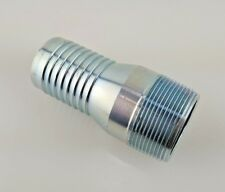 1-1/2 in. Galvanized Steel Male Barb x Pipe NPT Insert Adapter, Water