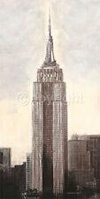 Talantbek Chekirov: Empire State Building, N.Y.C Fertig-Bild 50x100 New York