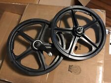 "New Skyway Tuff II Wheels Mags Freestyle 16"" GT Dyno Haro Hutch PK Ripper BMX Jr"