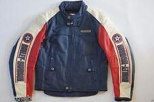 Harley Davidson Men's Rapid City Colorblocked Leather Jacket M Racing 97146-03VM